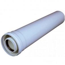 Удлинитель трубы 60х100 (коаксиальный) 0,5 м.